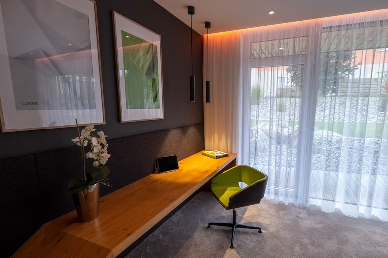 Loxone Show Home - Bedroom 2