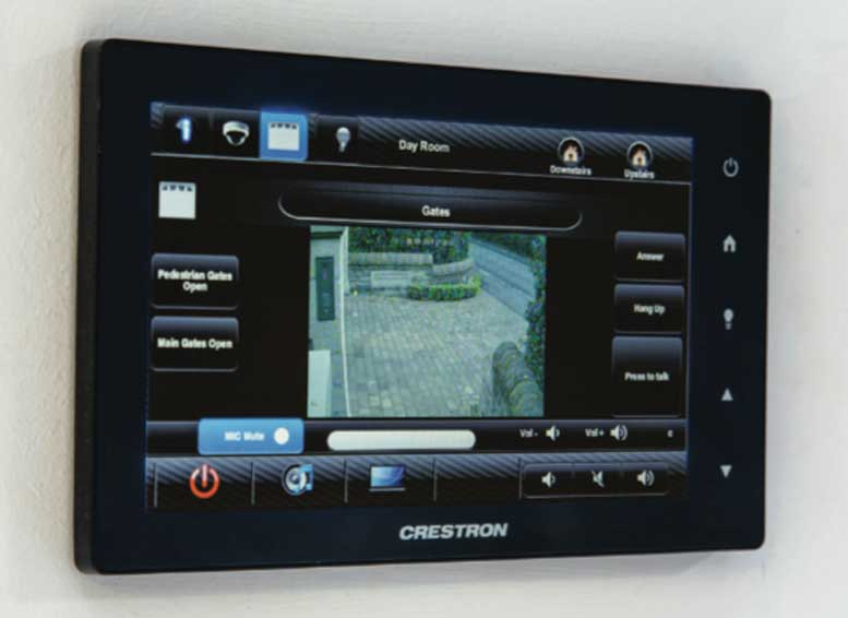 Crestron Wall Mont Touch Screen UK