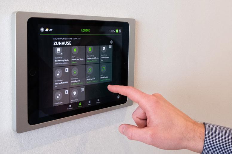 Loxone iPad Control