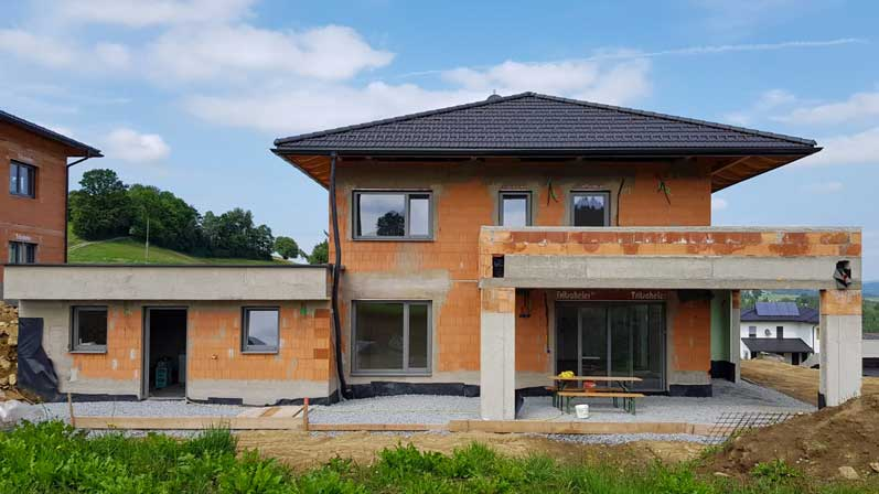 Austrian Self-Build - Loxone Installation