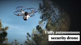 Sunflower Autonomous Outdoor Security Drone System