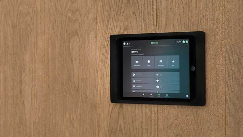Loxone iPad Wallmount - Anthracite