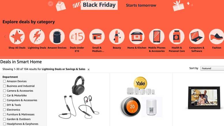 Smart Home Bargains - Black Friday