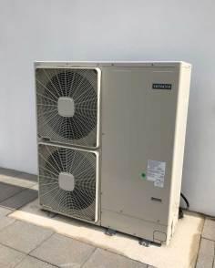 11kW Hitachi Yutaki M Monobloc Air Source Heat Pump - Automated Home