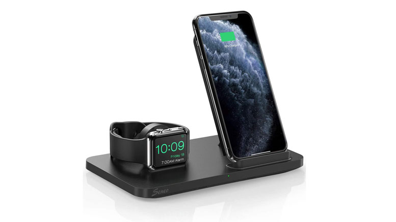 Bedside Wireless Charger for iPhone and Apple Watch