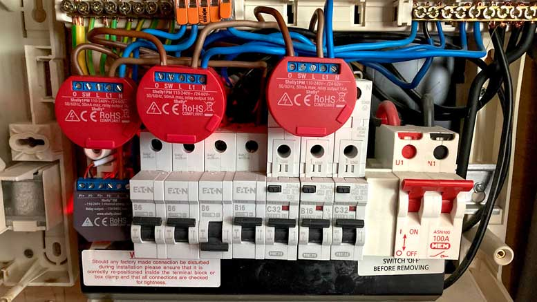 Converting EV Charger with Shelly Modules