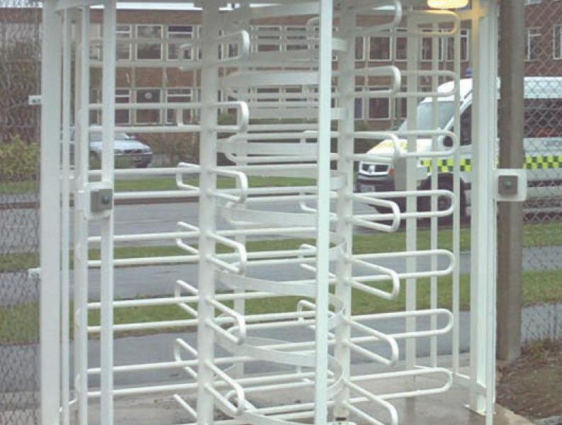 fence line turnstile