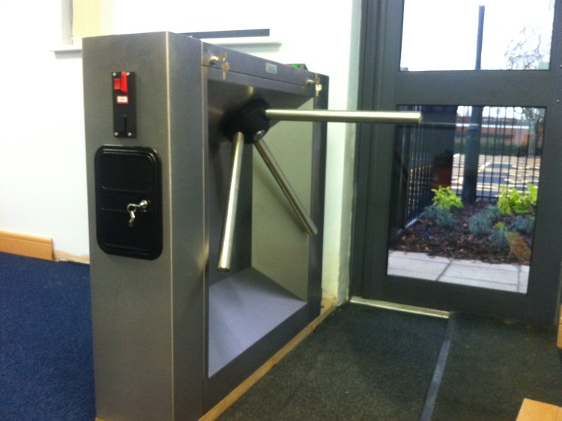 Coin Reader Tripod Turnstile