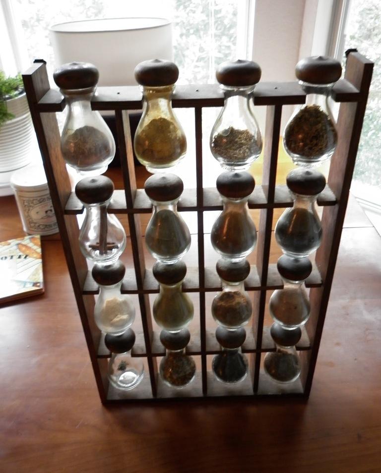unusual spice rack