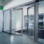 Porta Automática de batente 2 folhas - Porta Automática de Vidro