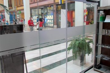 Puerta Automática Cristal