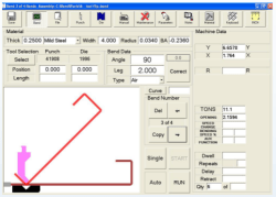backgauge control software