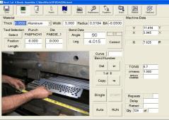 PC 800 Backgauge Control for Press Brakes
