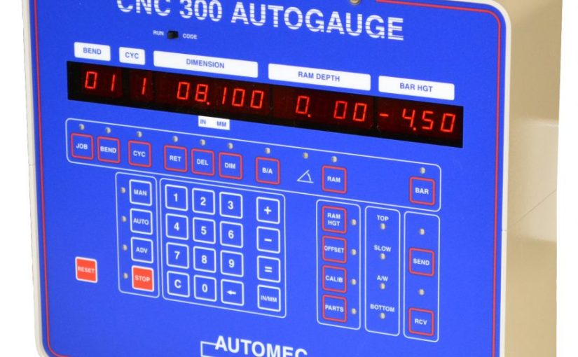 CNC 300 Autoguage Control –  3 Axis Backgauge Control for Press Brakes