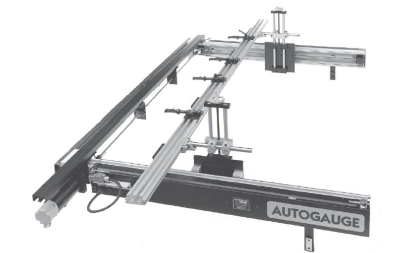 Autogauge G48 – 48″ Travel Plate Backgauge for heavy forming