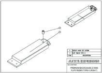 Premium Backgauge Z Axis, Flip Finger, Type K (Right) Assembly