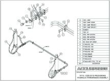 A.6 70175 - 70320 (STD) Press Brake Hydraulic Transmission Assembly