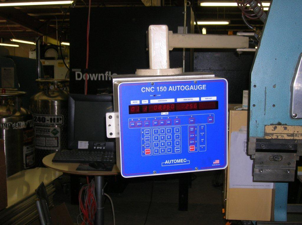 CNC 150 Control Mounted to hurco S-6