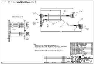 HURCO Harness, AB6 Main Bd. IF 423-0201-028