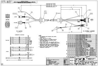 HURCO Harness, X Axis Interface 300-420-600 423-0201-021-024-025-030