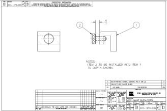 HURCO Gauge BlockScrew 001-1479-999