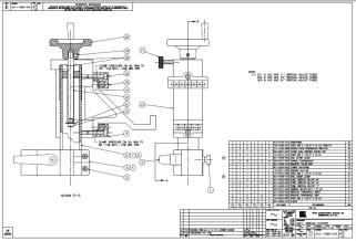 HURCO Vertical Support 001-1486-001 thru 006