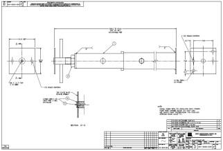 HURCO Adjustable Leg 901-0022-004
