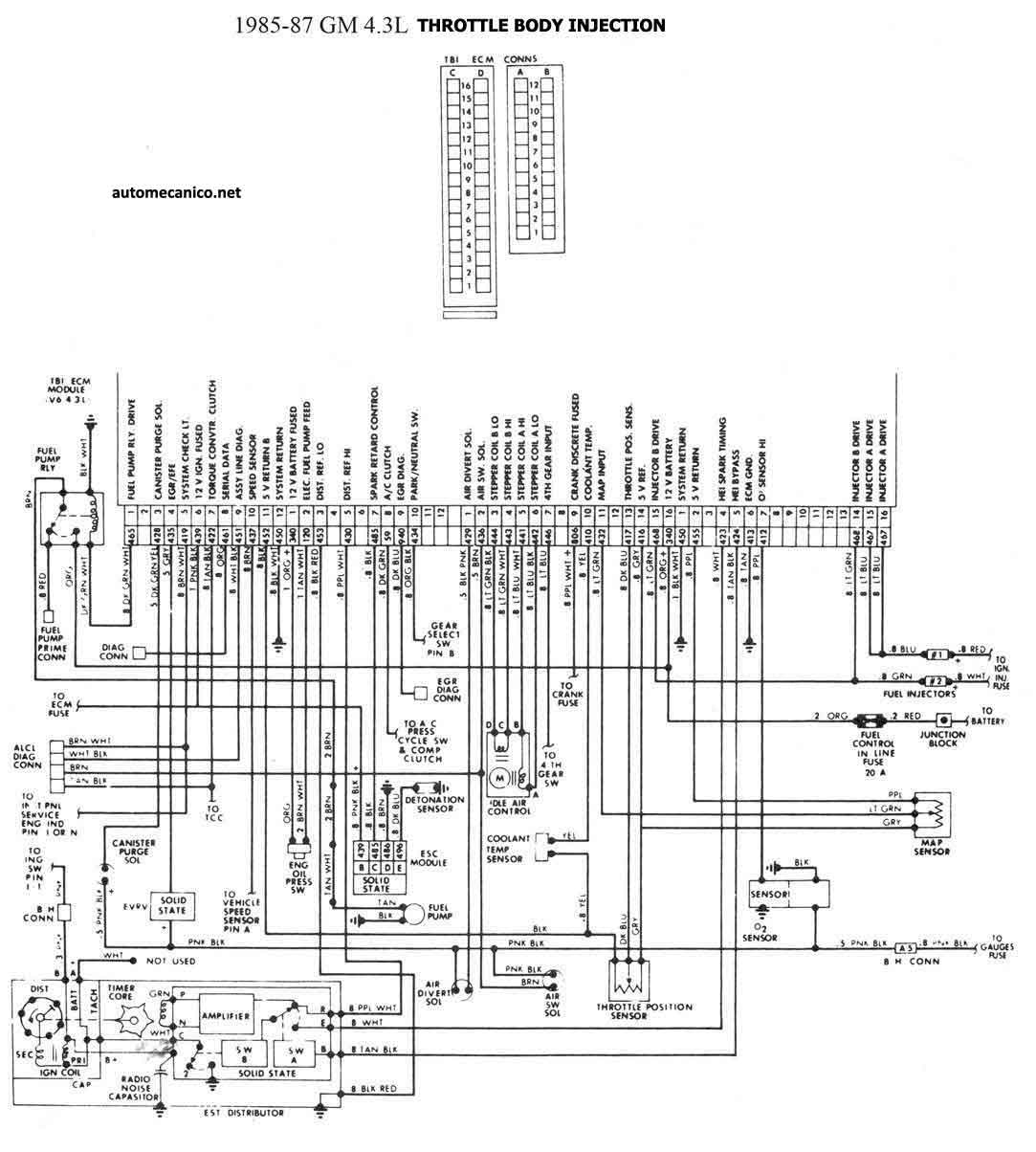 A C Wiring Diagram 95 Chevy Astro