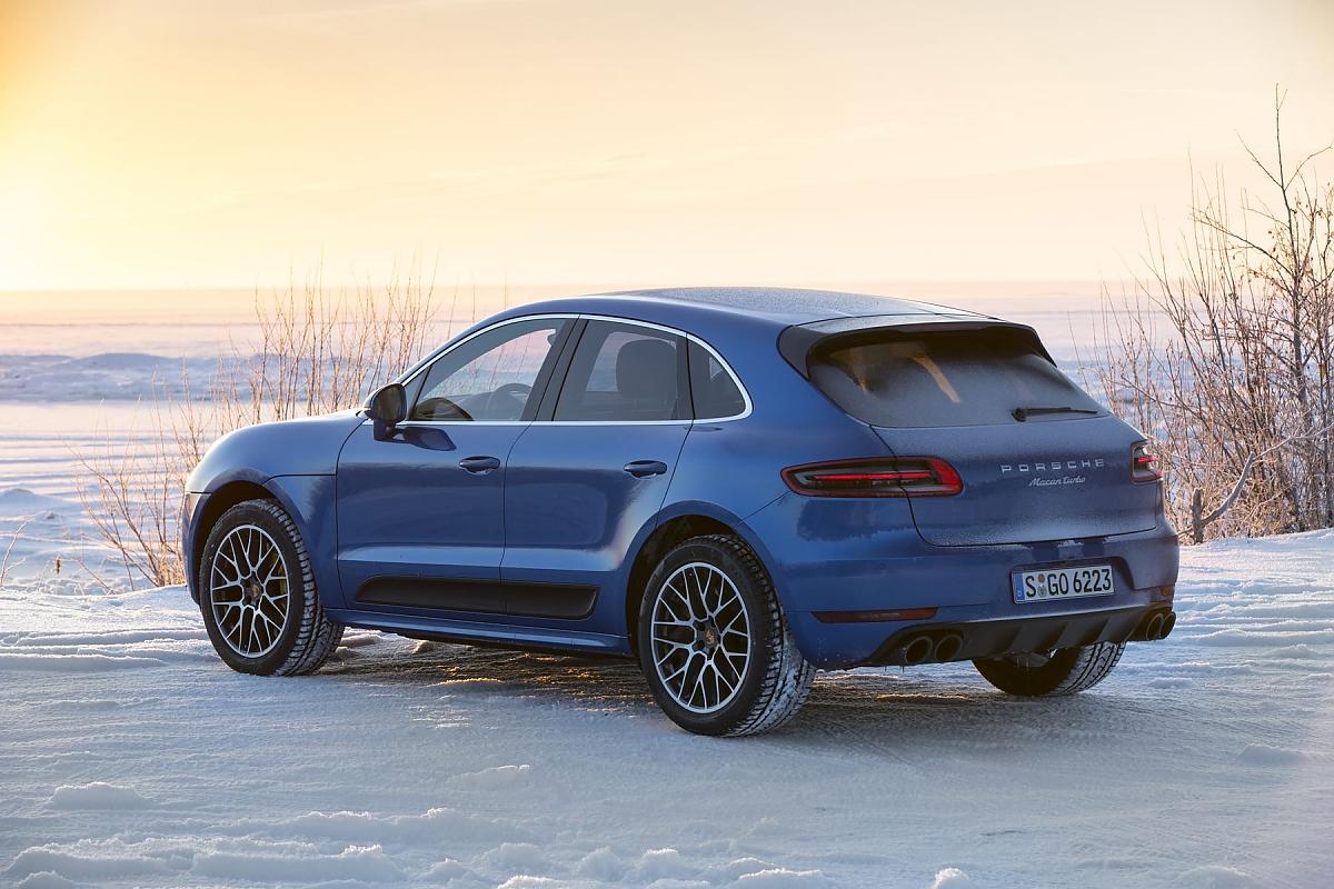 Porsche Macan Turbo Performance Stark Teuer Durstig