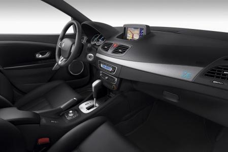 La planche de bord de la Renault Fluence ZE