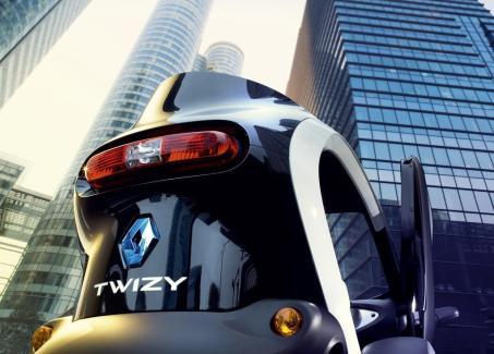 L'original feu arrière de la Renault Twizy