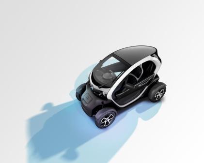 La Renault Twizy fera t-elle de l'ombre aux gros scooters ?