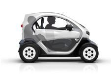 La position d'un passager dans une Renault Twizy