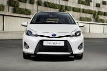 La face avant de la Toyota Yaris Hybride