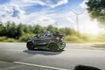 smart fortwo cabrio electric drive (A453) 2016
