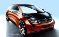 BMW i3 coupé : un design aux lignes tendues