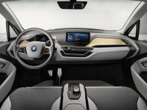 La planche de bord de la BMW i3 coupé