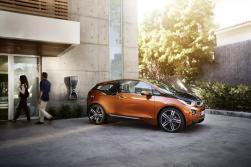 La BMW i3 coupé en recharge