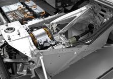 La batterie et le moteur électrique de l'i3