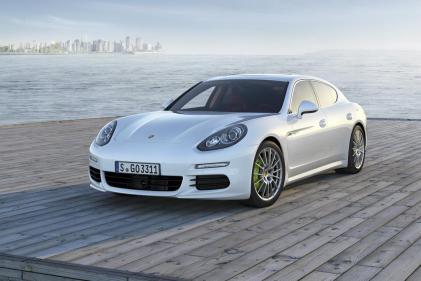 La ligne sportive de la Porsche Panamera S E-Hybrid