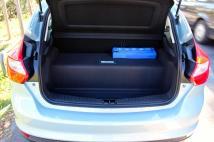 Le coffre restreint de la Ford Focus électrique