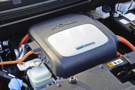Le moteur du KIA Soul EV développe l'équivalent de 110ch