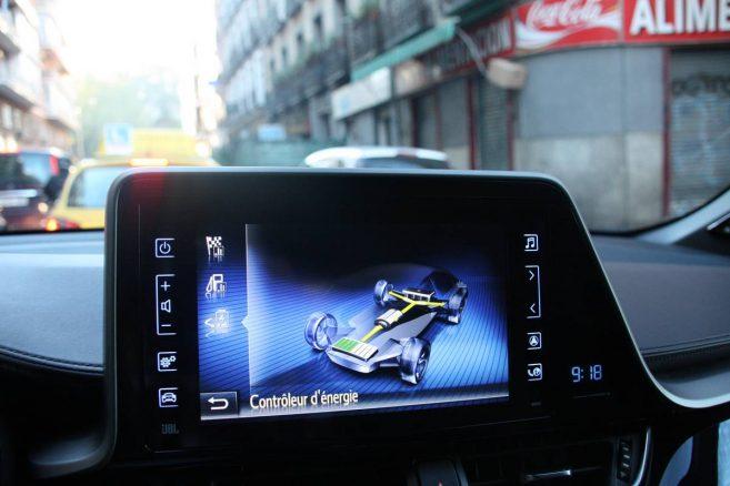 Toyota C-HR : controleur d'énergie