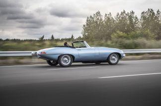 Jaguar E Type Zéro9