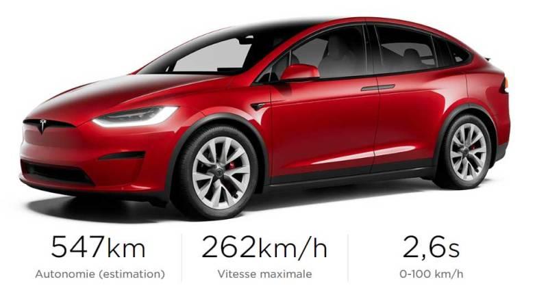 Tesla Model X Plaid 2021