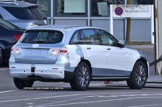 Mercedes-Benz GLC-Class Crossover Spied Undisguised