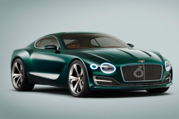 Bentley EXP 10 Speed 6 Concept Front Three Quarters
