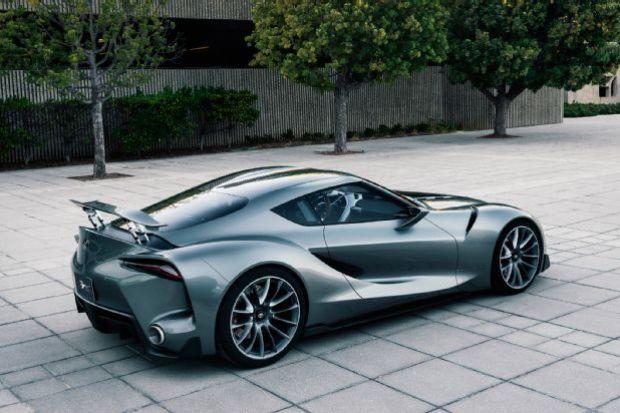 Toyota FT 1 Concept Three Quarter Quarter