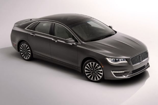 2017 Lincoln Mkz Front Three Quarters