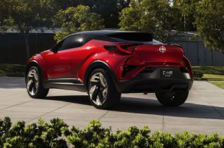 Scion C-HR Concept Previews the Brand's First Crossover